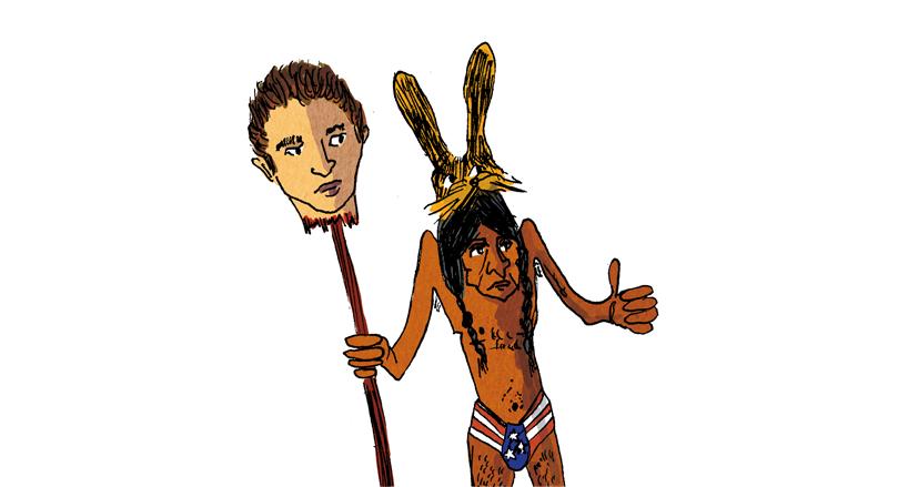 La tête de Julius - Illustration
